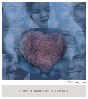 Tré Arenz: Gratitude is the Memory of the Heart. 2001